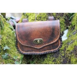 Embossed adventurer belt bag