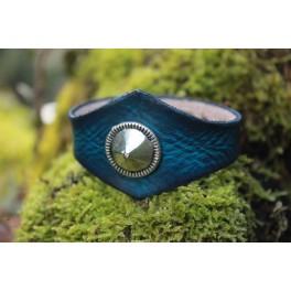 """Bracelet """"ferne"""" à rivet décoratif"""