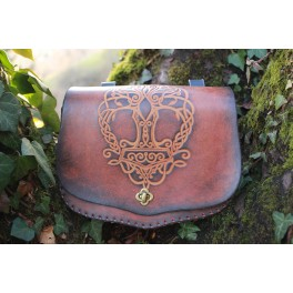 Big embossed adventurer belt bag