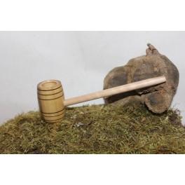 Barrel hobbit pipe