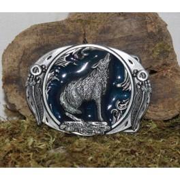 Wolf buckle belt, interchangeable 4cm buckle