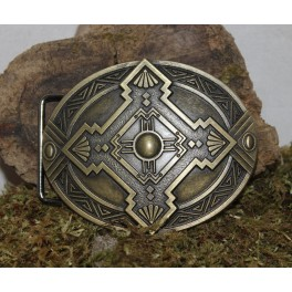 Erebor dwarf buckle belt, interchangeable 4cm buckle