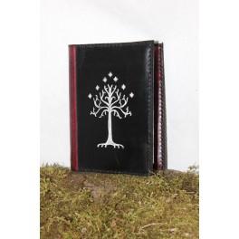 "Grimoire ""Heir of Gondor"", couvre livre en cuir"