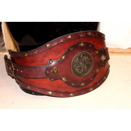 Conan the barbarian leather war belt