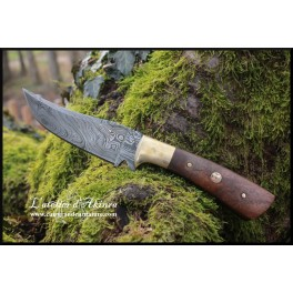 Damascus steel knife design 03