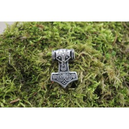 Small thor hammer, 35x25mm concho