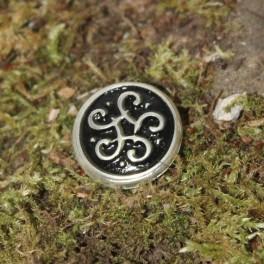 Small keltisch knot, 22x22mm concho