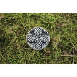 Celtic cross 3, 40x40mm concho