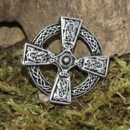 Celtic cross 2, 40x40mm concho
