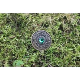 Oeil de dragon, rivet décoratif 30x30 mm
