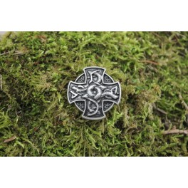 Croix des dragons, rivet décoratif 35x35 mm