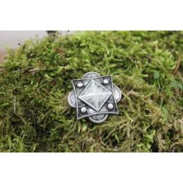 Décoration ancienne type naine, rivet décoratif 30x30mm