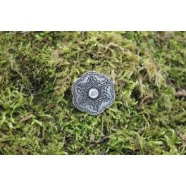 Flower, 3cm concho