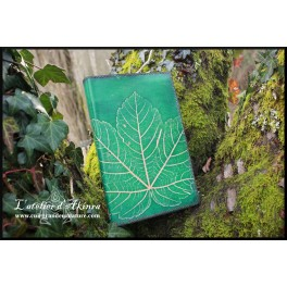 Book-cover leaf