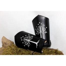 """Canons """"Heir of Gondor"""", pièce d'armure en cuir"""