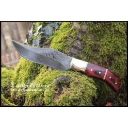 Couteau en acier damas modèle 01