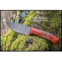 Couteau en acier damas modèle 02