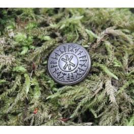 Runes nains, rivet décoratif 15mm