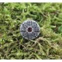 Bouclier à la pierre, modèle 2, rivet décoratif 15mm