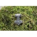 Petit marteau de thor, rivet décoratif 35x25mm