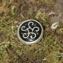 Petit noed celtique, rivet décoratif 22x22mm
