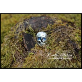 Petit crâne, rivet décoratif 13x10mm