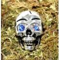 Crâne, rivet décoratif 22x31mm